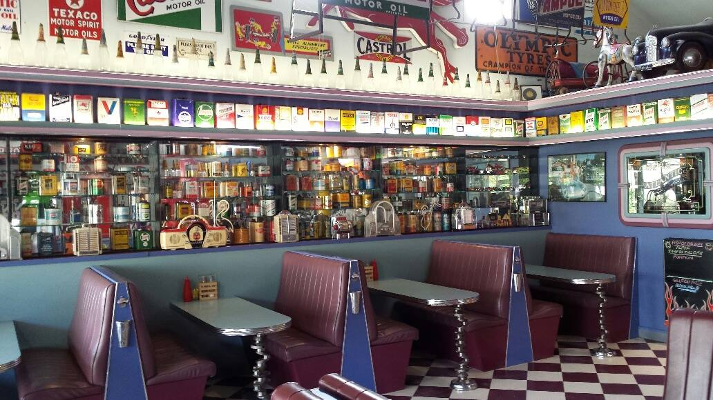 CRUZIN IN THE 50's DINER » Heads Up Launceston & Food Guide